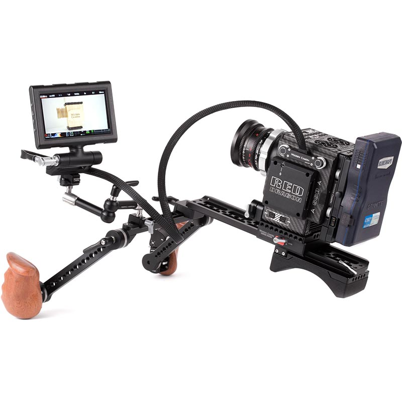 Wooden Camera RED Male Pogo to Male LEMO LCD | EVF Cable (36